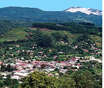Staden Boquete i Panama är idealisk för skolgrupper som reser utomlands för att lära sig spanska